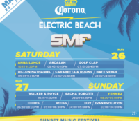 Corona's SMF Beach Stage is ⚡ELECTRIC⚡