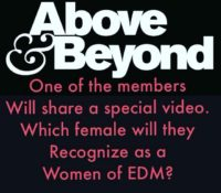 Above & Beyond Tomorrow!!!