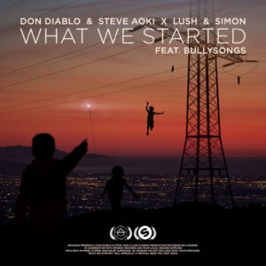Don Diablo & Steve Aoki X Lush & Simon - What We Started feat Bullysongs