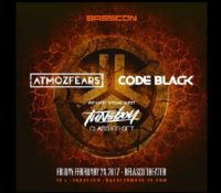 Basscon Presents: Atmozfears, Code Black, & Tuneboy