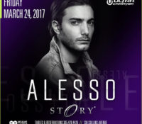 Swedish Certified Platinum Artist ALESSO Announces Headlining Show at Story Miami – 3/24