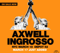 Axwell Λ Ingrosso Add Second Show