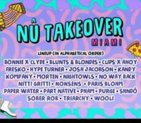 NU Takeover – Miami Music Week