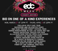 Insomniac Unveils 3rd Annual EDC Week Charity Auction