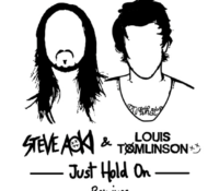 "STEVE AOKI & LOUIS TOMLINSON's ""Just Hold On"" Gets Remixed"