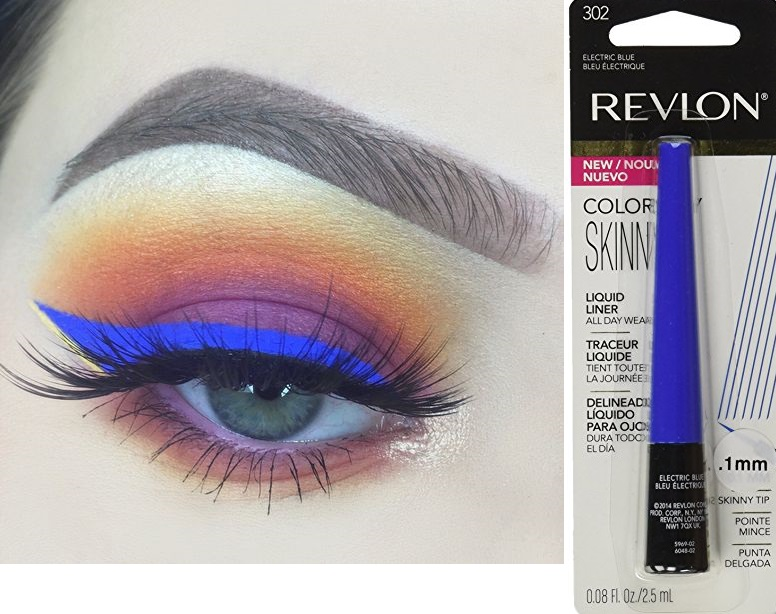 Revlon Colorstay Skinny Liquid Liner - Electric Blue