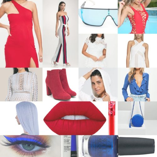 15 Items You Need for A Red White & Blue Weekend