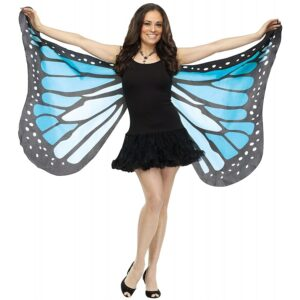 Adult Soft Butterfly Wings Adult Costume Accessory - BLUE