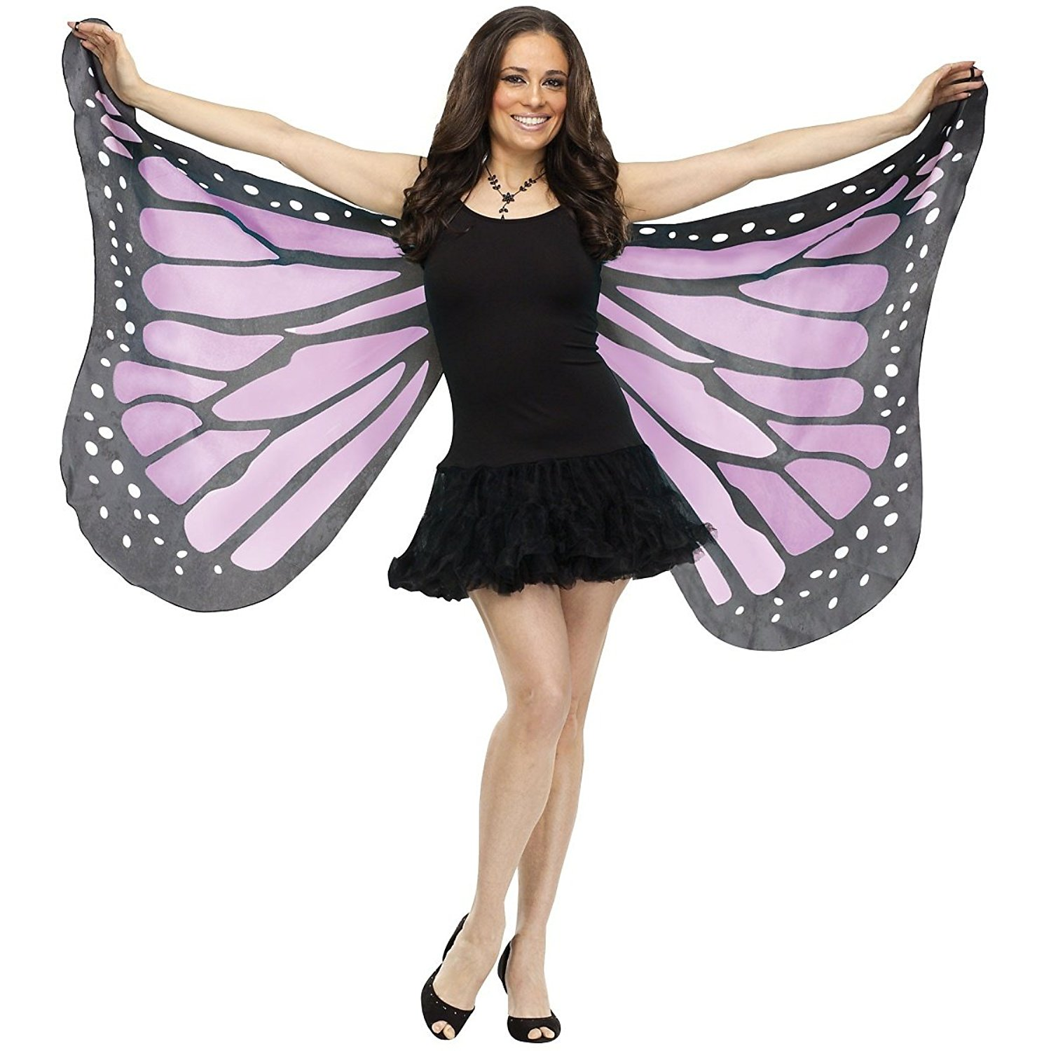Adult Soft Butterfly Wings Adult Costume Accessory - PURPLE