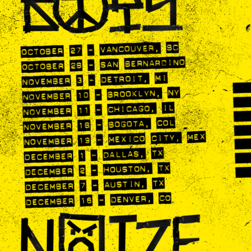 Boys Noize Fall Tour