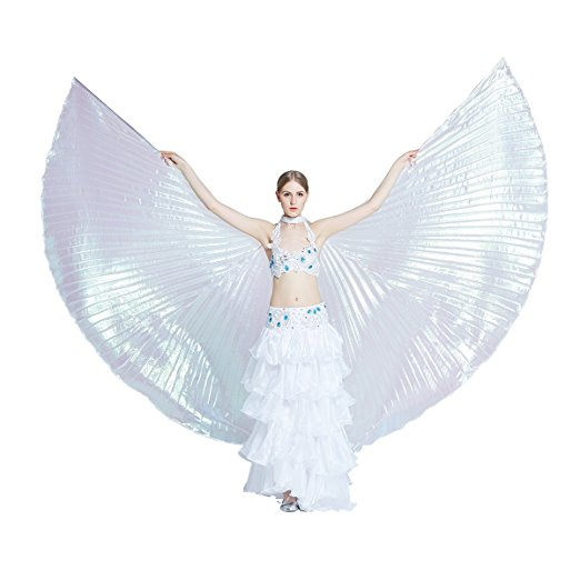559f5d3a4 Iridescent Isis Wings - Women of Edm