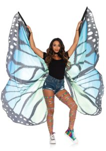 Leg Avenue Women's Festival Monarch Butterfly Cape