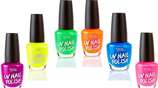 UV Light Nail Polish Set of 6