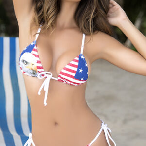 Yandy American Eagles String Bikini