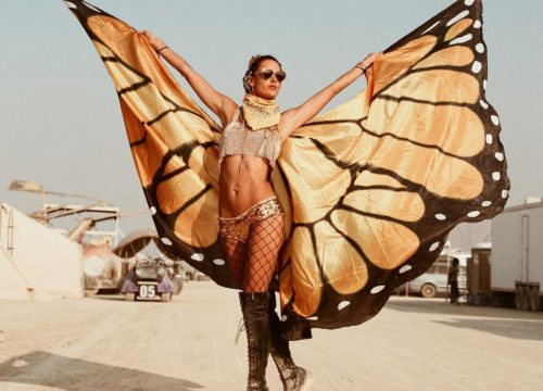 Women of EDM 36 Images of Burning Man's Female Beauty