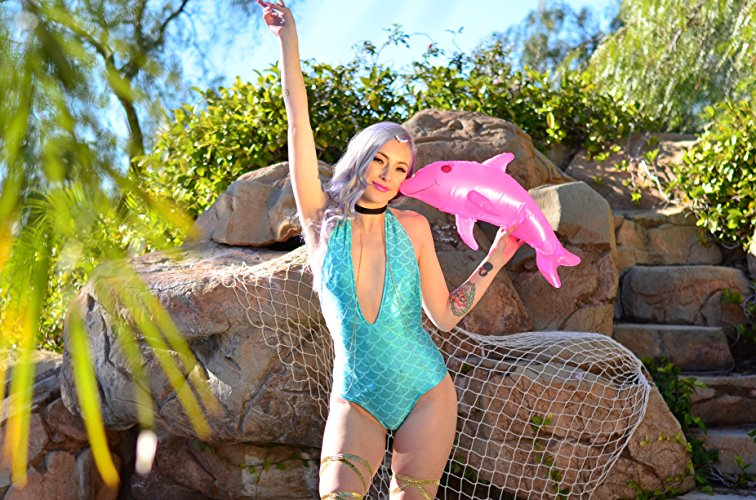 Light Up LED Mermaid Bodysuit One Piece