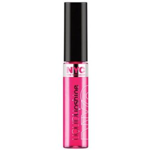 Fashion Ave Fuchsia, NYC New York Color Liquid Lip Shine