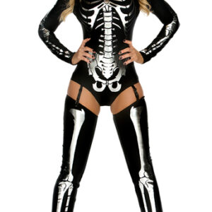 Snazzy Skeleton costume