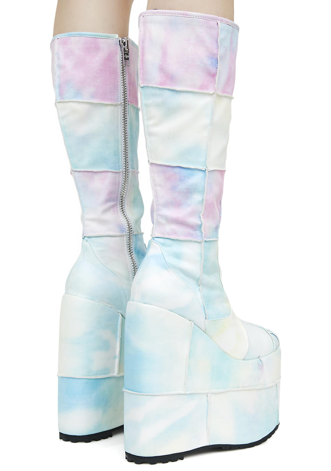 Deep Dive Platform Boots - Women of Edm
