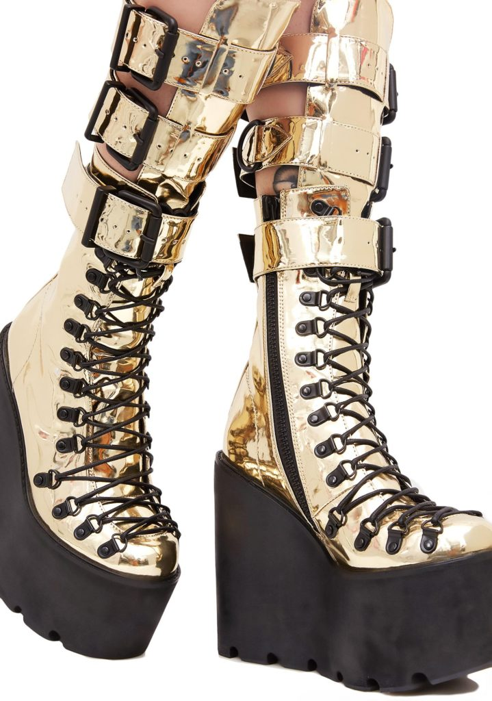 Gilded Guardian Boots