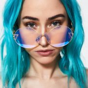 See More Blue Hologram Glasses