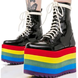 Rainbow Stacked Platform