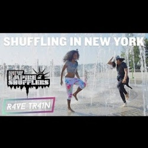 Shuffling In New York with New Empire Shufflers - Rave Train