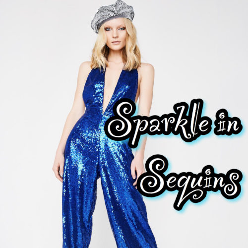 Sparkle in Sequins on NYE
