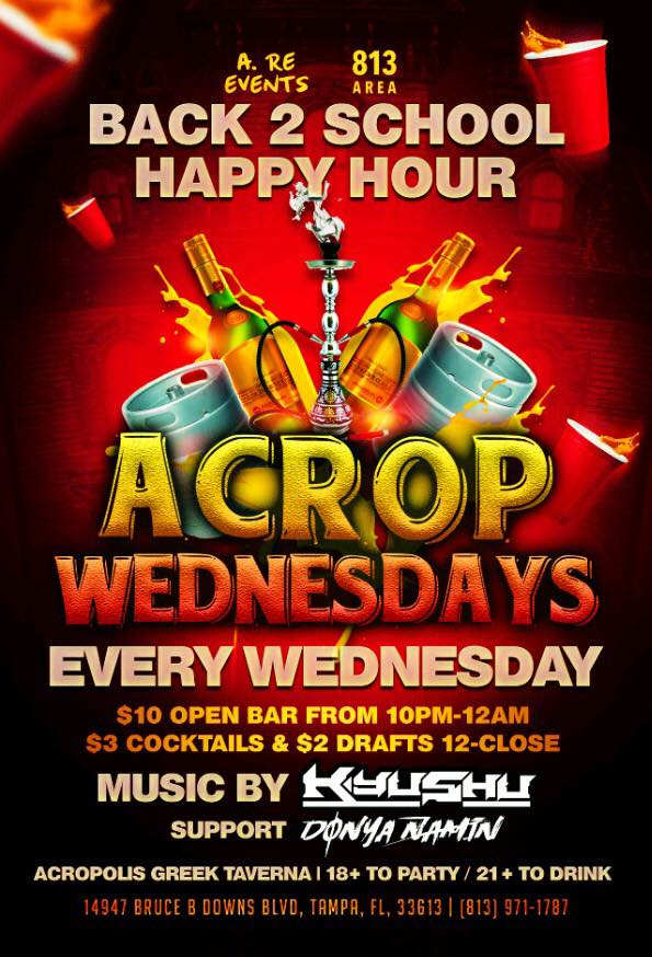 ACROP WEDNESDAY FLYER