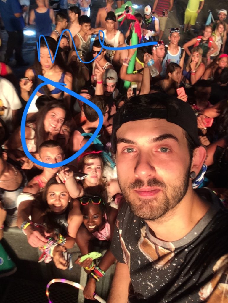 My selfie with Borgore