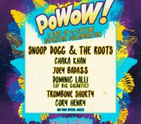 PoWoW! Lineup Announced 🙀 🌀
