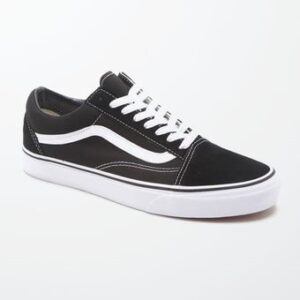 Vans Canvas Old Skool Black & White Shoes