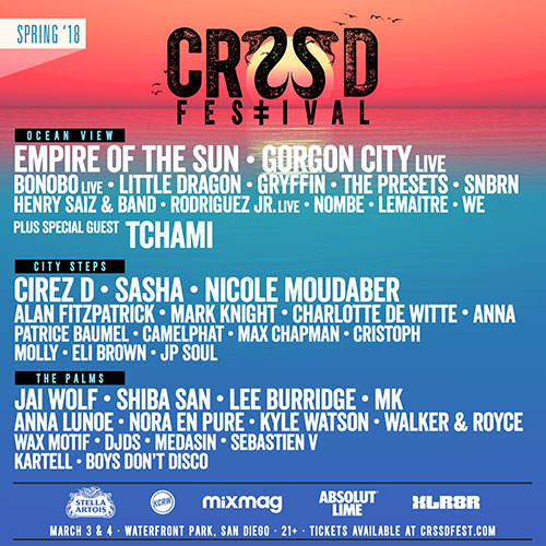 CRSSD lineup