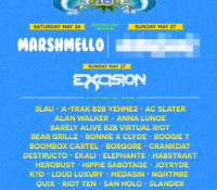 Marshmello, Destructo, Excision: Full SMF Lineup