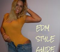 Yellow is the New Wave ~ EDM Style Guide by Samantha