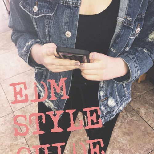 All Denim To The Laces ~ EDM Style Guide by Samantha