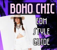 Boho Chic ~ EDM Style Guide by Samantha