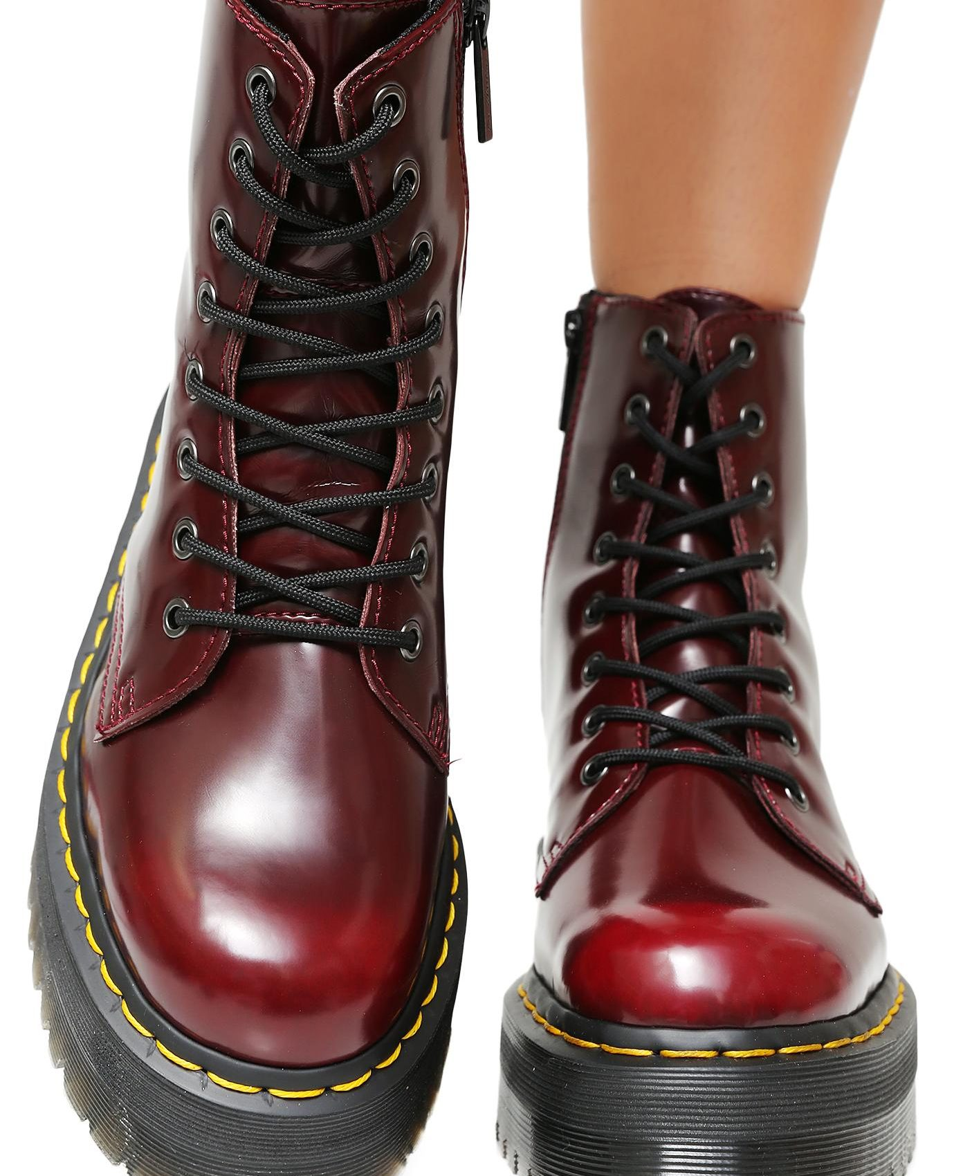 1460 CHERRY RED SMOOTH DR. MARTENS SOMECHIC