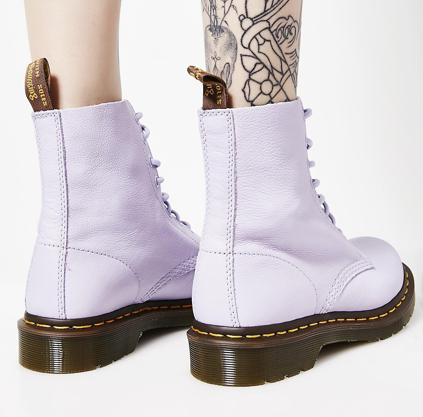38979a52b2f Dr. Martens Light Purple Boots
