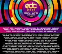 25 Additional Artists and 14 New Shows to EDC Week 2018 Lineup