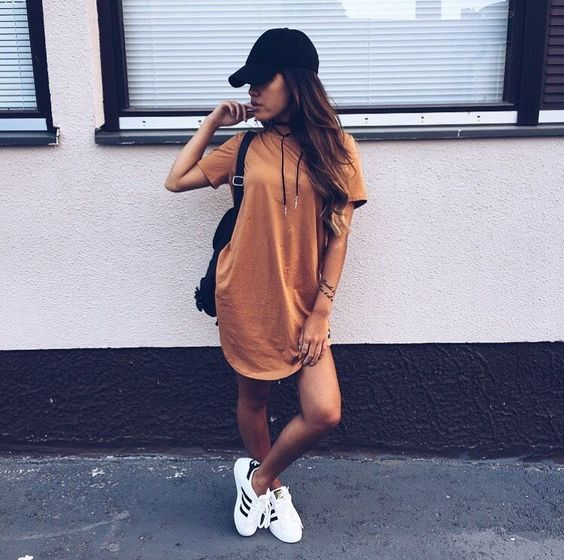 festival tshirt dress