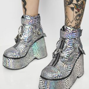 Electric Venom Hologram Boots