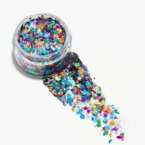 Rainbow Unicorn Glitter Gel