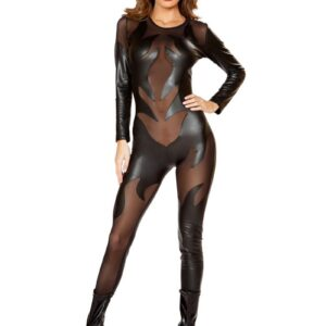 Sexy Black 1pc Evil Devil Costume