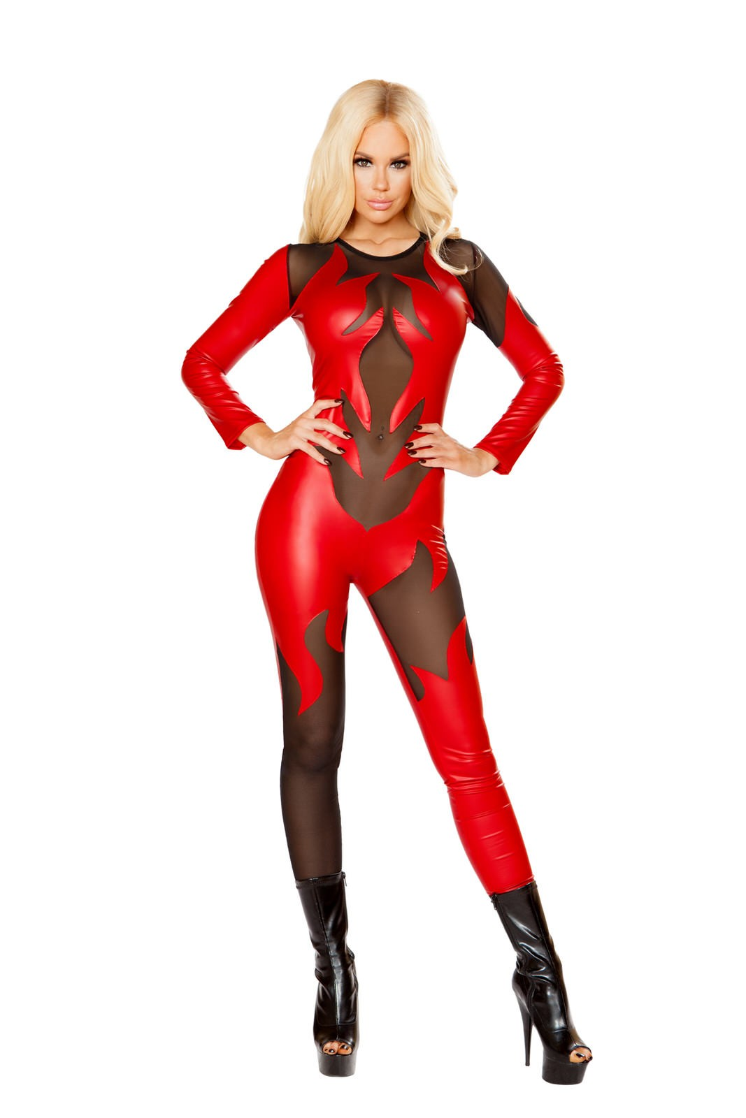 Sexy red devil costume