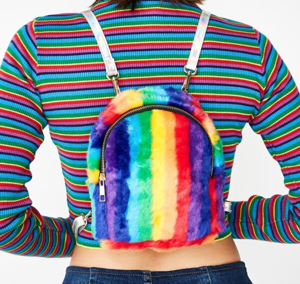 Tickle Me Rainbow Backpack
