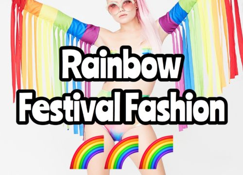 Rainbow Festival Fashion
