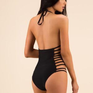 Strappy Cut-Out Swimsuit