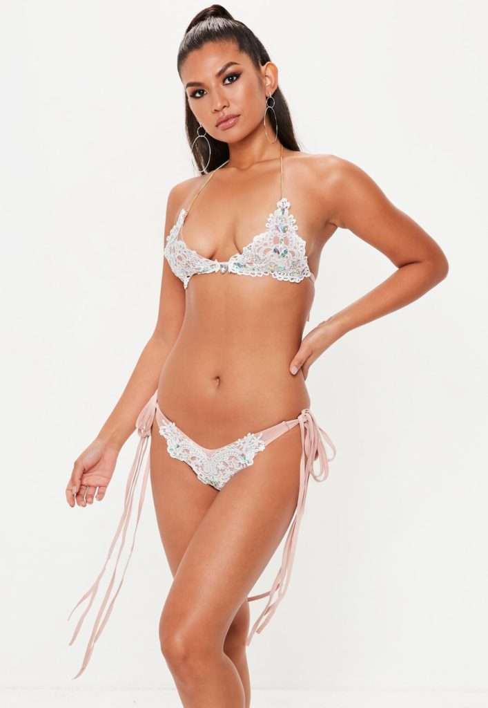 jewelled bikini set