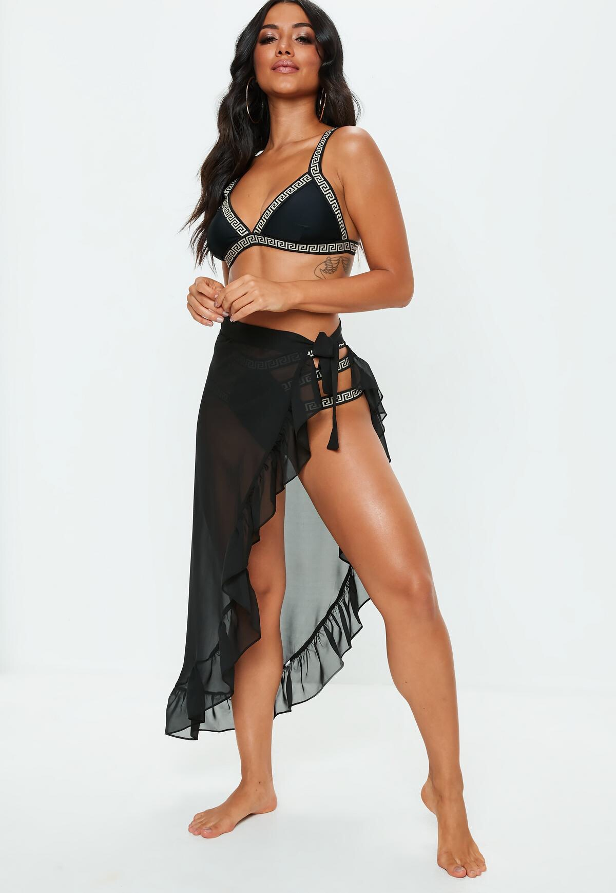 0e44b7f37c Black Swim Cover up - Women of Edm